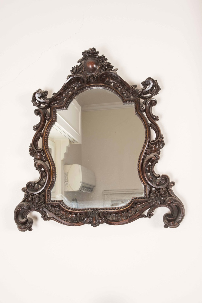 Florentine Style Carved and Gilded Wall Mirror