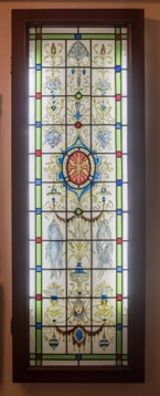European Style Stained Glass Window