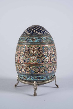 Russian Faberge Style Egg