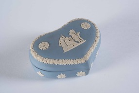Wedgwood Heart Shaped Box