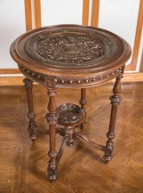 Well-Carved Baroque Style Side Table