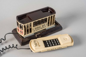 Vintage San Francisco Cable Car Shaped Telephone
