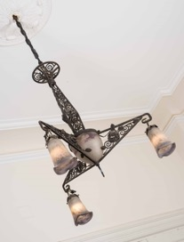 Antique Noverdy Chandelier