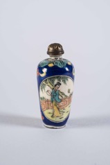 Chinese Blue and White Porcelain Medicine/Snuff Bottle