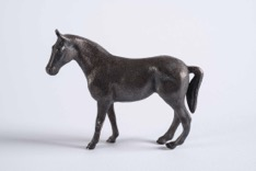 Continental Bronze Horse Sculpture