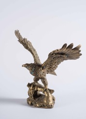 Bronze Statue of an Eagle