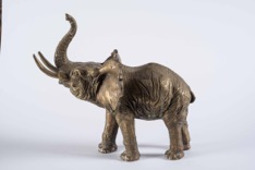 Bronze Statue of an Elephant