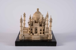 An Exquisite and Finely Carved Miniature Model of the Taj Mahal