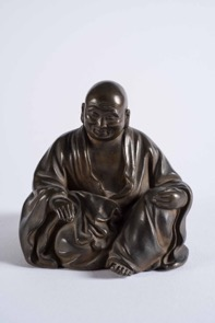 Oriental Bronze Figurine of a Seated Buddha