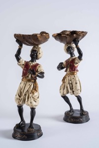 Cold Painted Bronze Bonbon Figurines